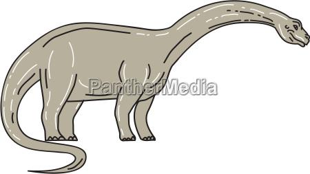eidechse vierbeiner dinosaurier gigantisch