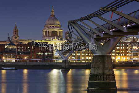 uk london st pauls cathedral and