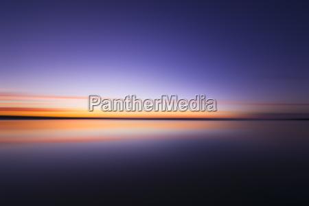 scotland east lothian dunbar abstract sunset