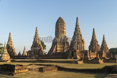 thailand ayutthaya buddhistische tempelanlage wat chai