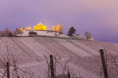 fahrt reisen kirche winter abend outdoor