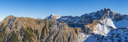 germany bavaria allgaeu alps view to