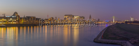 germany cologne panoramic view of the
