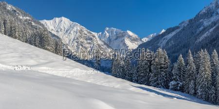 deutschland bayern oy tal im winter