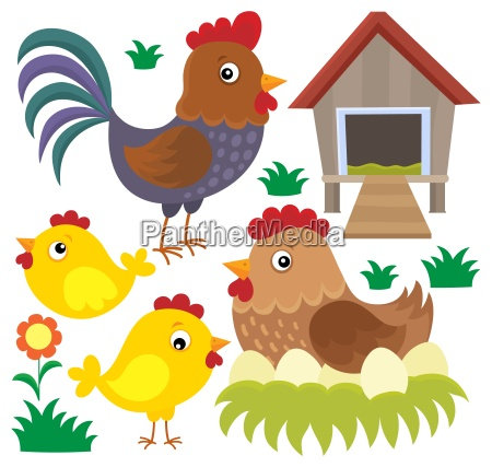 chicken thematic set 2