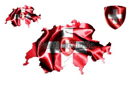 schweiz nationalflagge
