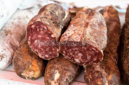 different spanish sausage specialties