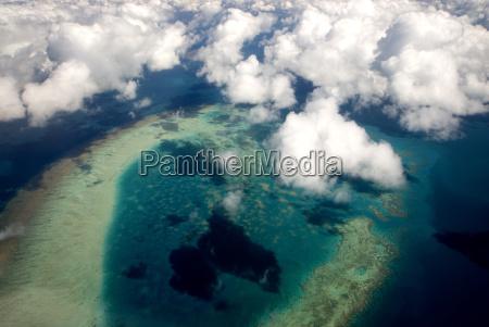 das great barrier reef australiens ist
