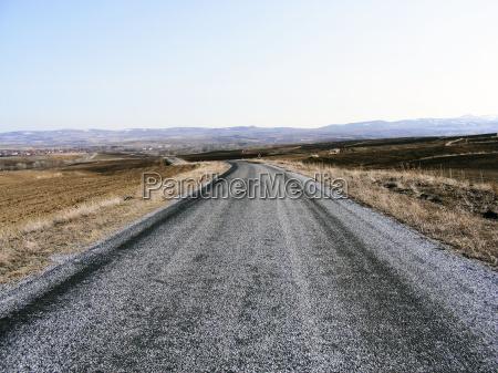 reise und asphaltstrassenbilder