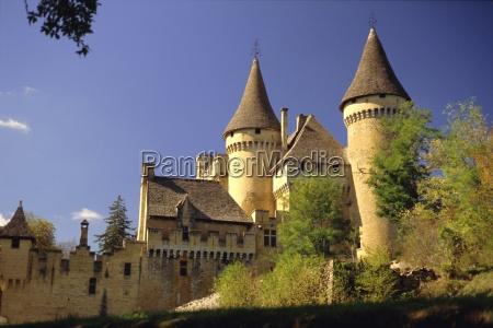 puymartin castle dordogne aquitaine france europe