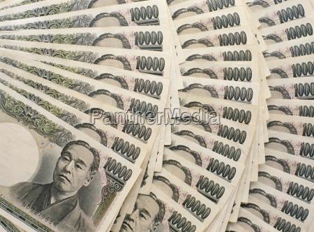 japanische 10000 yen banknoten