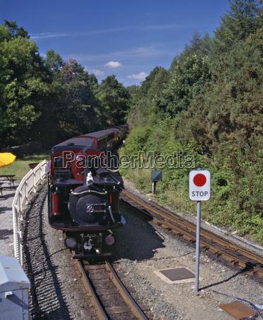 ffestiniog railway at tan y bwlch
