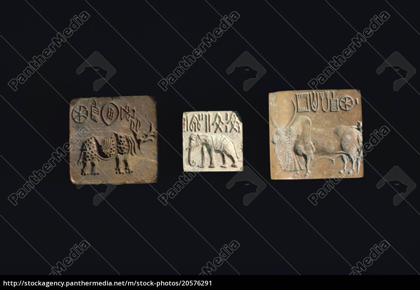 robben, die, tiere, aus, der, indus-zivilisation, von - 20576291