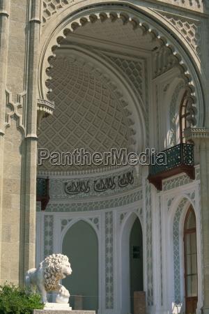maurische fantasie dekorationen im alupka palast