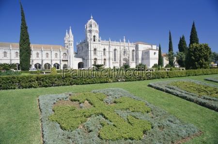 jeronimos monastery lisbon portugal europe