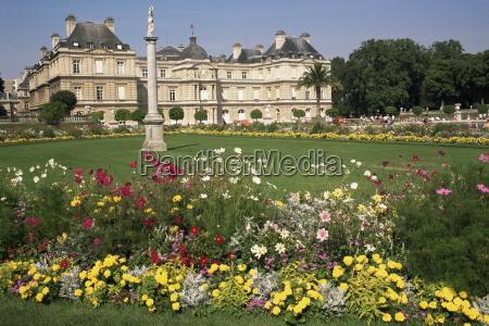 palais du luxemburg und gaerten paris