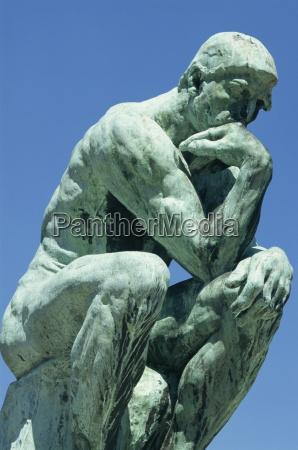 the thinker by rodin musee rodin