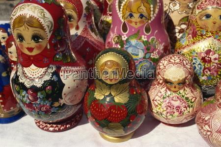 matrjoschkapuppen yuzhno sachalin russischen fernen osten