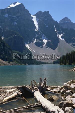 moraine lake rocky mountains alberta kanada