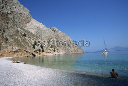 st georges bay symi dodecanese greek