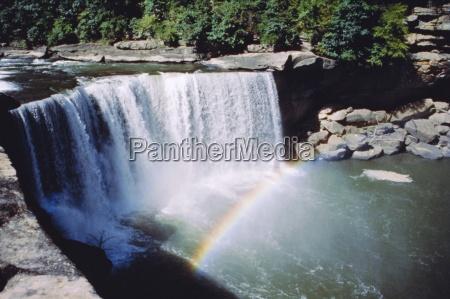 cumberland falls auf dem cumberland river