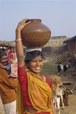 village life dhariyawad rajasthan india