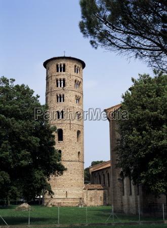 campanile beside basilica of sant apollinare