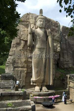 statue of buddha 12 metres tall