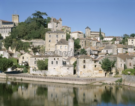 puy deveque and river lot lot