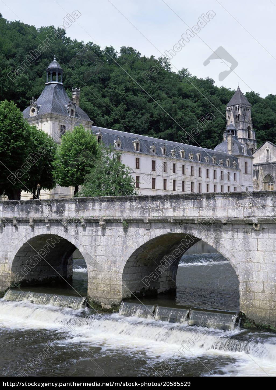 brantome, , dordogne, , aquitaine, , france, , europe - 20585529