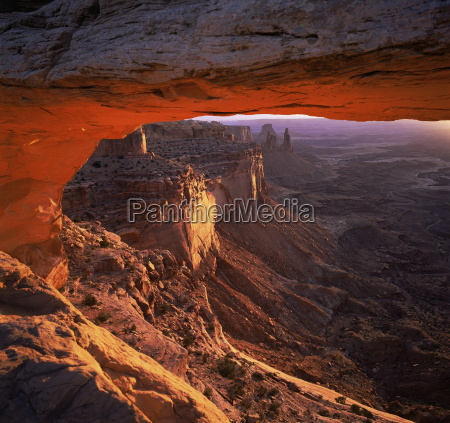mesa arch canyonlands national park utah