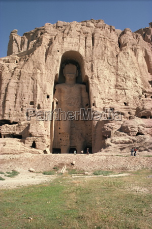 large buddha subsequently destroyed by the