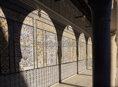 mosque of the barber kairouan unesco