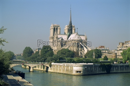 notre dame cathedral paris france europe