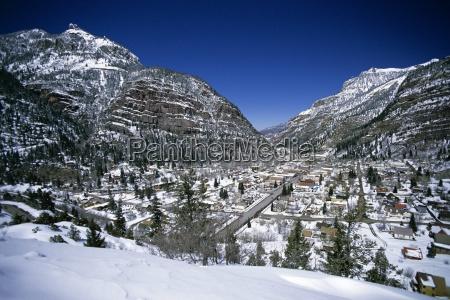 stadt berge usa amerika plaetze orte