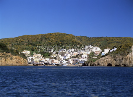 view of the island of ponza