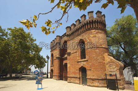 tor und zinnen von castillo hidalgo