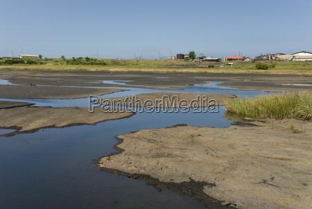 la brea pitch lake natuerlichen see