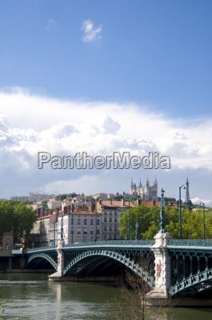 the pont de luniversite over the