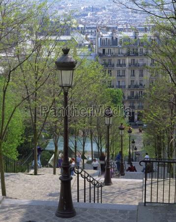 fahrt reisen europa paris lampen frankreich