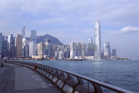 central skyline of hong kong island