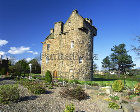 claypotts castle broughty ferry near dundee