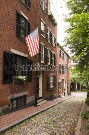 acorn street beacon hill boston massachusetts