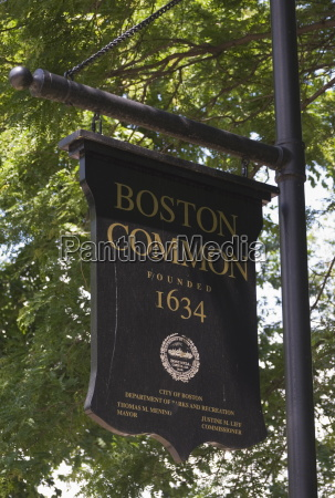 boston common boston massachusetts usa