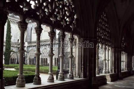 great cloisters batalha monastery unesco world