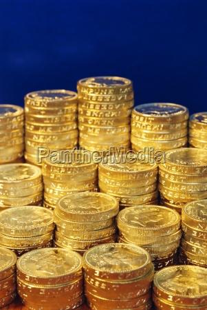 britisches geld pfundmuenzen