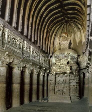 buddhist cave 26 ajanta unesco world