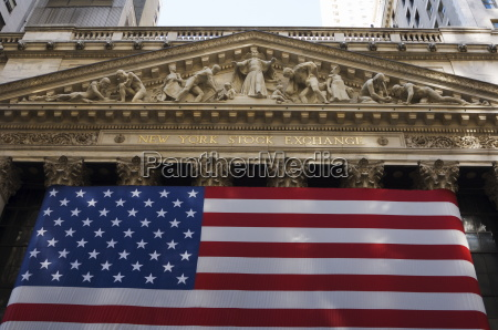 the new york stock exchange wall