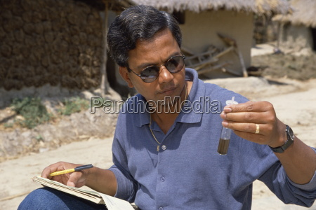 testen wasser auf arsen bangladesch asien