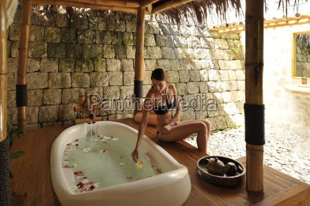 bath at the mogambo spa at